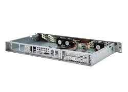 19-inch mini ITX rack-mount 1U server case - IPC-1U-K-125L - 25cm depth