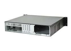 19-inch microATX rack-mount 2U server case - IPC-C238 - 38cm length