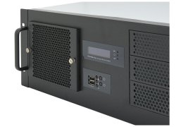 19-inch ATX rack-mount 4U server case - IPC-G438 - 38cm depth