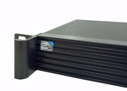 19-inch 1U server-system short Emu A1 - Atom, mini ITX
