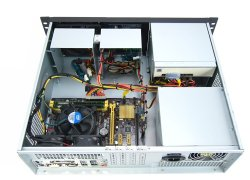19-inch 3U rack-mount server-system Taipan S1 - Core i3 i5, 38cm short