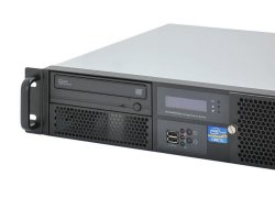 19-inch 2U rack-mount server-system Dingo S8.2 - Core i5 i7, Dual LAN, 38cm short