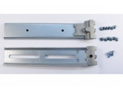50mm telescopic sliding-rails for 1U 19-inch rack-mount server-chassis