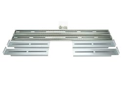 26 telescopic sliding-rails for 19-inch rack-mount server-chassis