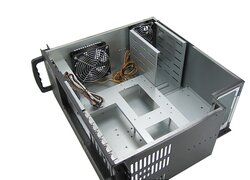 19-inch ATX rack-mount 4U server case - IPC-E420 - front-access