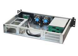 19-inch 1.5U server-chassis IPC-N1528R / mini ITX with 3,5 HDD backplane