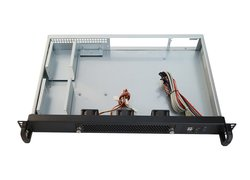 19-inch rack-mount 1U server-case IPC-C130B / mini ITX / micro ATX
