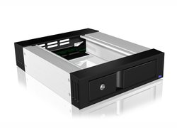 Icy Box IB-158SSK-B 3.5 inch SATA mobile rack / trayless